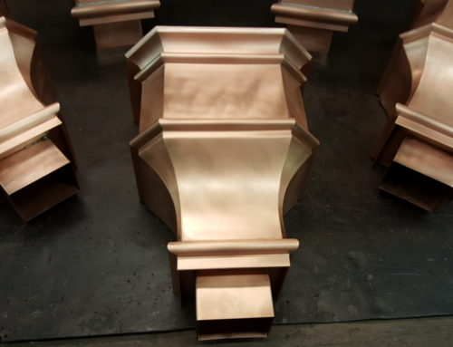 Leeland 1 Copper Leader Boxes Collector Heads