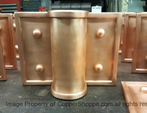 Winthrop Ornamental Copper Downspout Bands