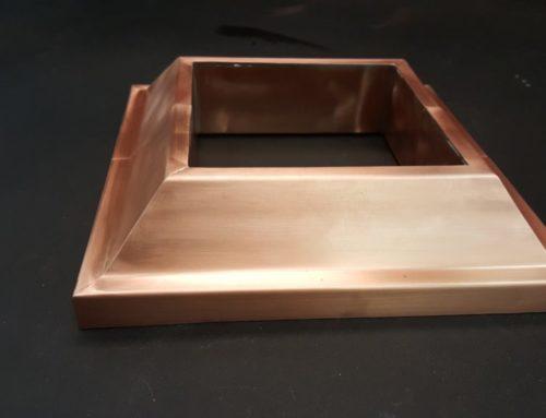 Copper Base Molding for Column