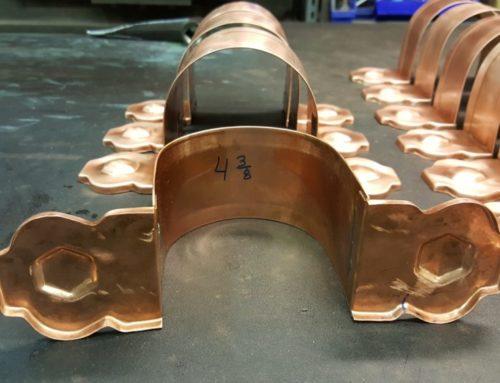 Larchmont Ornamental Decorative Copper Downspout Bands Straps
