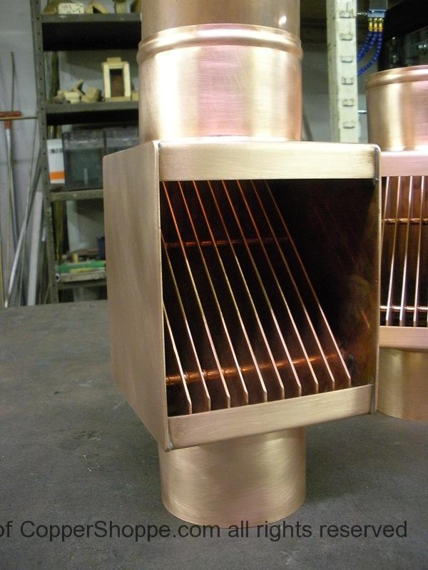 Autoclear Classic For Round Copper Downspouts The New