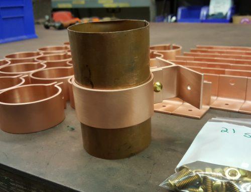 Knoke 3 Copper Downspout Brackets