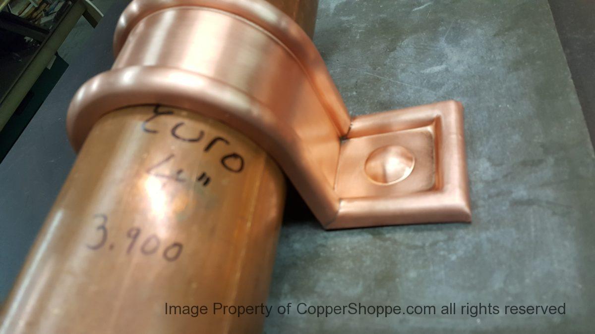 Radmont Radius Ornamental Decorative Copper Downspout Bands Straps