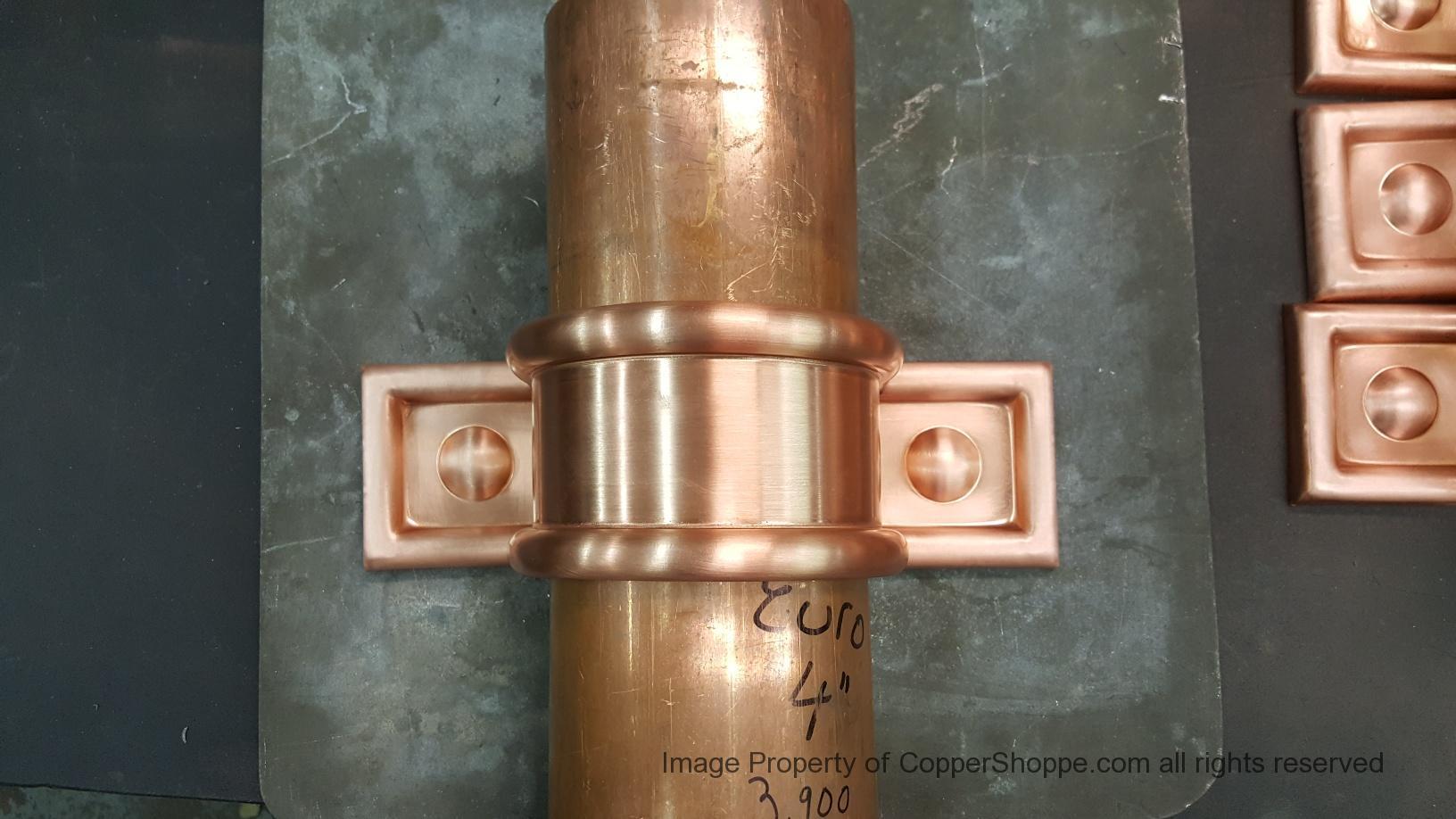 Radmont Radius Ornamental Decorative Downspout Bands
