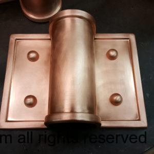 Winthrop Ornamental Decorative Copper Downspout Bands Straps