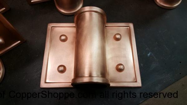 Winthrop Ornamental Decorative Copper Downspout Bands Straps