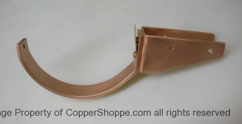 Copper Gutter Brackets For All Types Of Installations