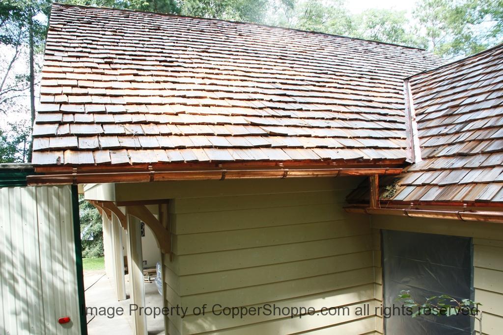 Hrrma Copper Gutter Brackets Hangers The New