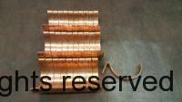 Custom HRC Copper Gutter Brackets
