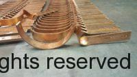 Custom SideRider Copper Gutter Brackets with Riser