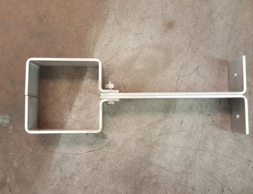Custom Aluminum Downspout Brackets