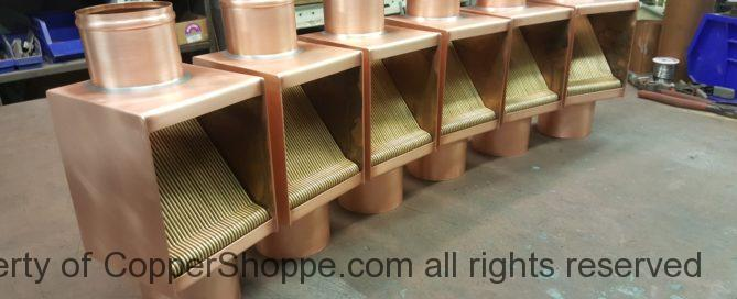 AutoClear Brasstonian Ultra Rod Packs for 3″ Round Copper Downspouts