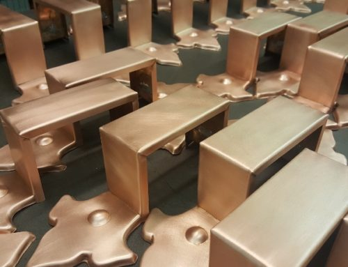 Fleur-di-Lis Ornamental Decorative Copper Downspout Bands Straps for 4-1/2″ by 3″ Rectangular Copper Downspouts