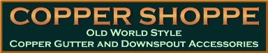 The New CopperShoppe.com Logo