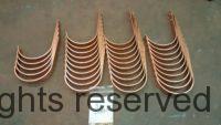 HRRM Copper Gutter Brackets for Roof Deck Mounting.