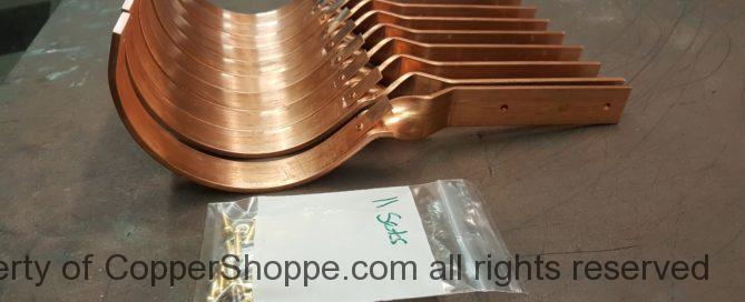 SideRider Copper Gutter Brackets for Half Round Copper Gutters