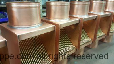 """AutoClear I Series Copper Downspout Clean Outs for 4"""" Round Copper Downspouts"""