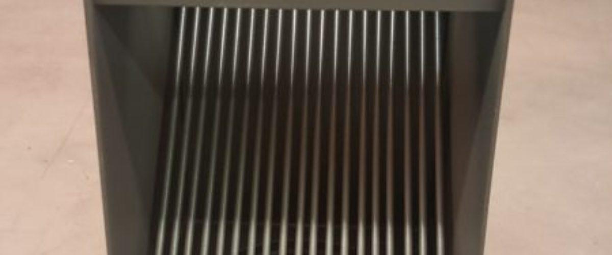 AutoClear PCSS in Bronze Downspout Cleanout Leaf Diverter for Aluminum Downspouts