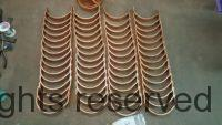 "Copper Gutter Brackets for 5"" Copper Gutters as made by World Gutter Systems"