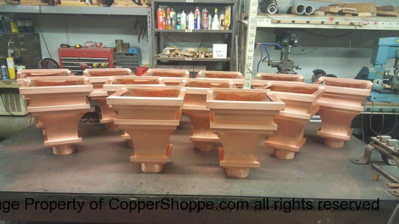 Old World 1 Copper Leader Heads Collector Boxes
