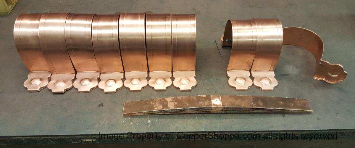 Larchmont Ornamental Decorative Copper Downspout Bands
