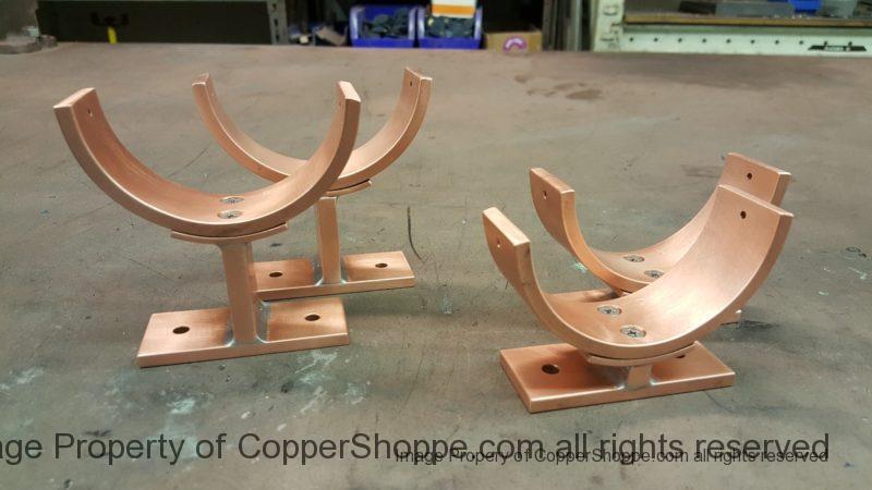Torres 2 Copper Downspout Brackets
