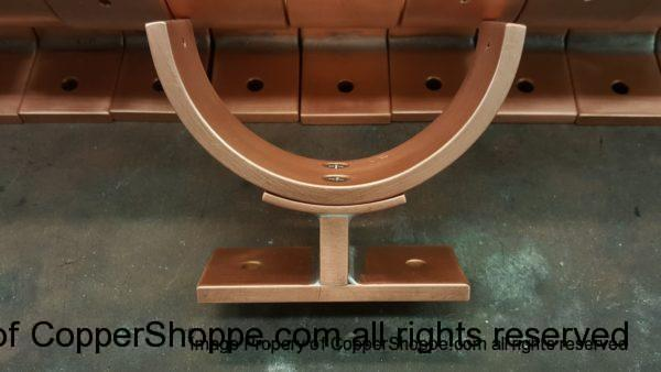 Torres 2 Copper Downspout Brackets Round 4