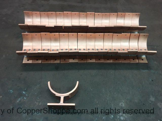 Torres 2 Copper Downspout Brackets