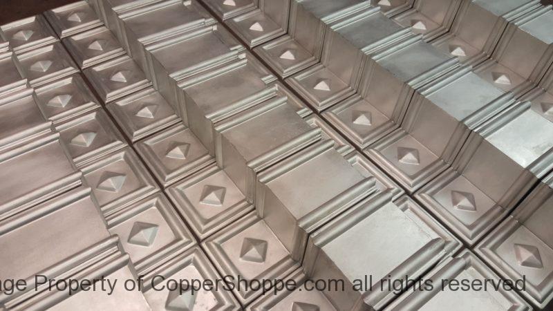 Dorchester 2 Freedom Gray Ornamental Decorative Copper Downspout Bands Straps