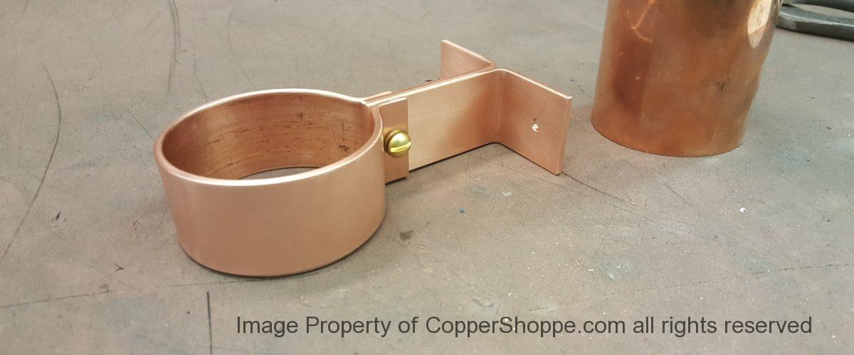 Knoke Copper Downspout Bracket
