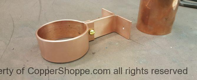 Knoke Copper Downspout Bracket