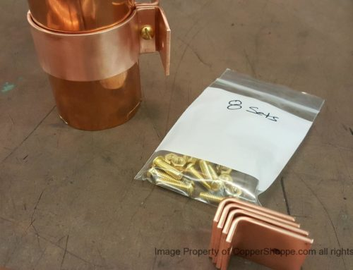 Knoke Copper Downspout Brackets