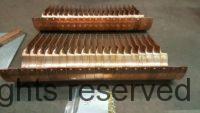 """SideRider Copper Gutter Brackets for 6"""" Half Round Copper Gutters"""
