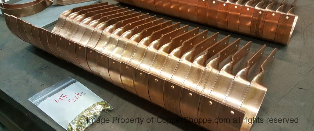 SideRider Copper Gutter Brackets