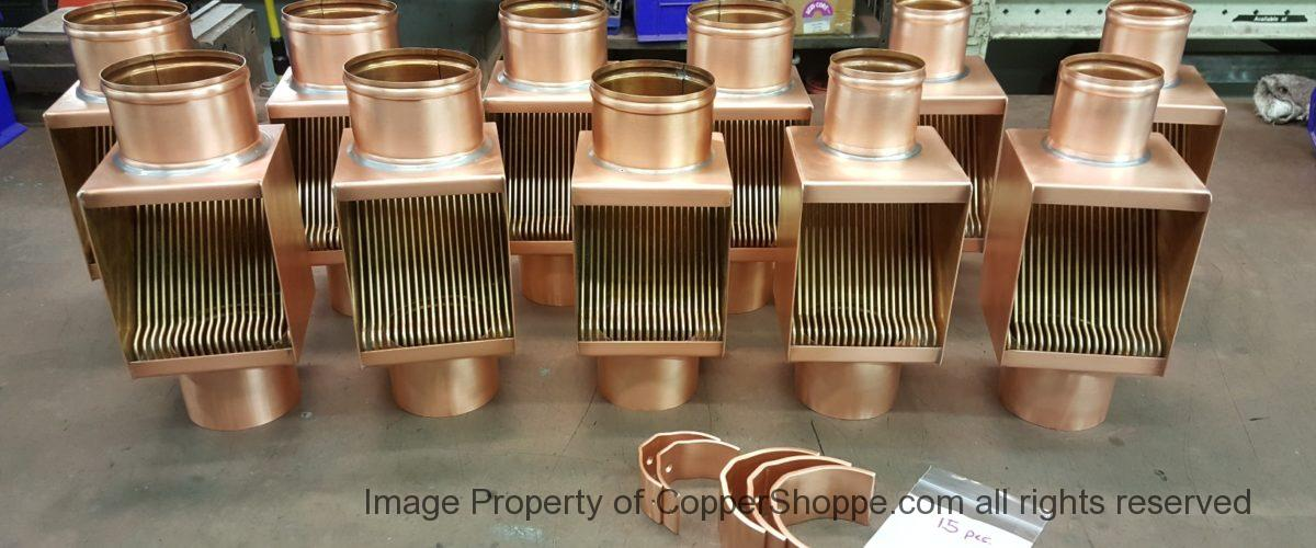 Brasstonian Series AutoClears for 4″ and 3″ Round Copper Downspouts