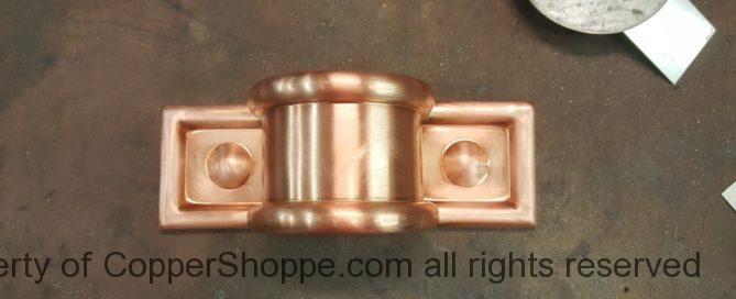 Radmont Radius Copper Downspout Band