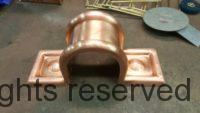 Radmont Radius Copper Downspout Band