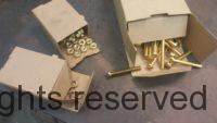 Brass Nuts, Bolts and Lock Washers