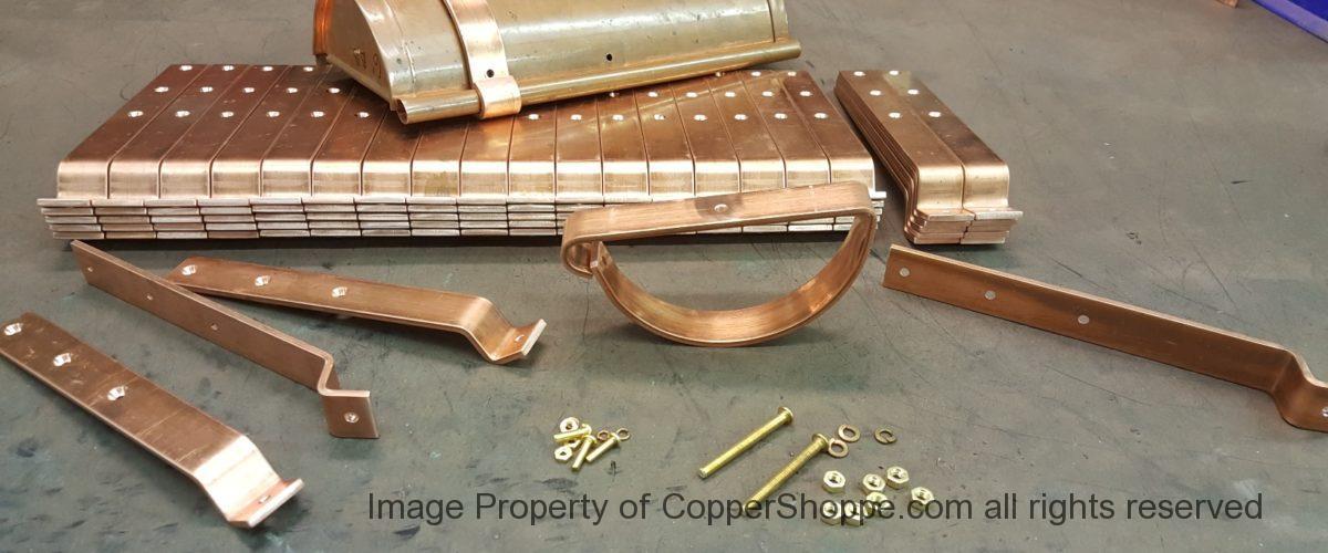 HRRMA Copper Gutter Brackets for 6″ Half Round Gutters