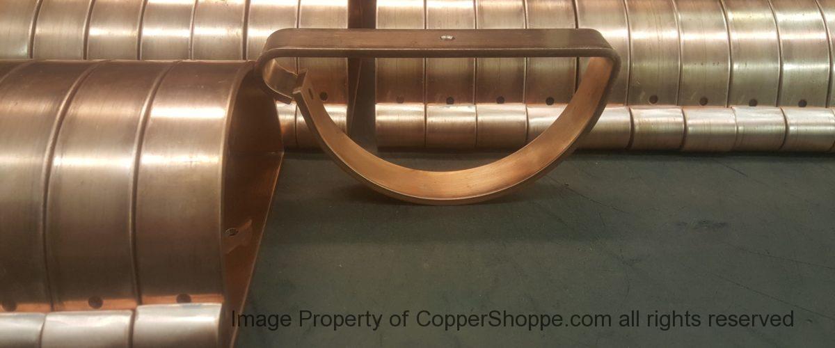 HRRMA Copper Gutter Brackets Hangers