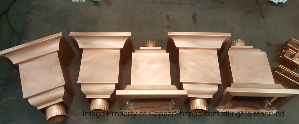 Troubador Copper Leader Heads Collector Boxes