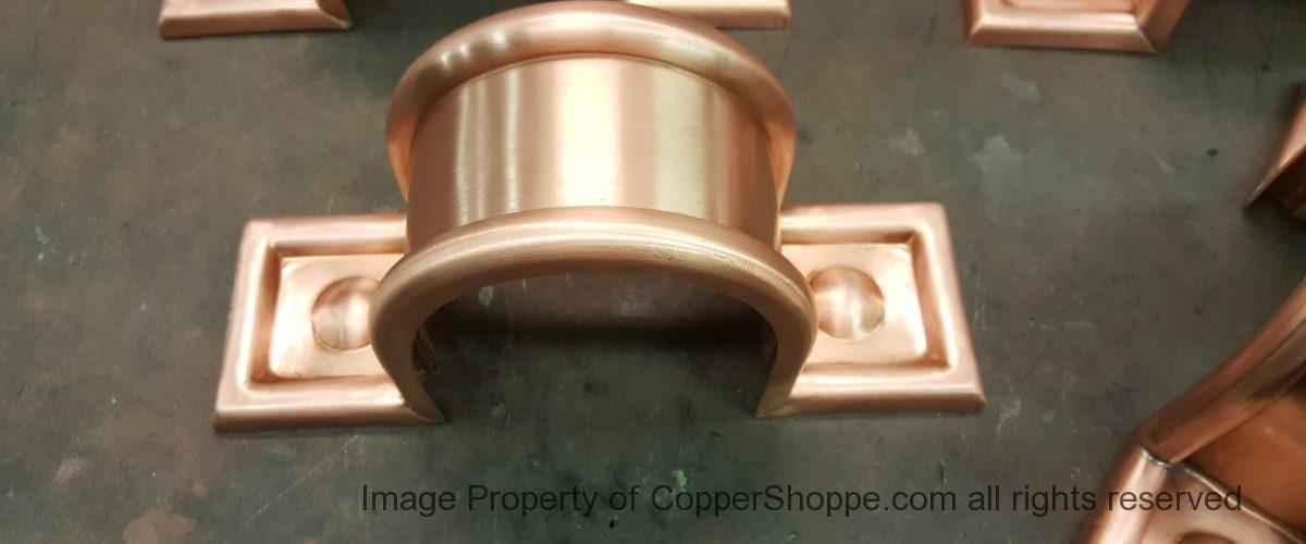 Radmont Radius Copper Downspout Bands