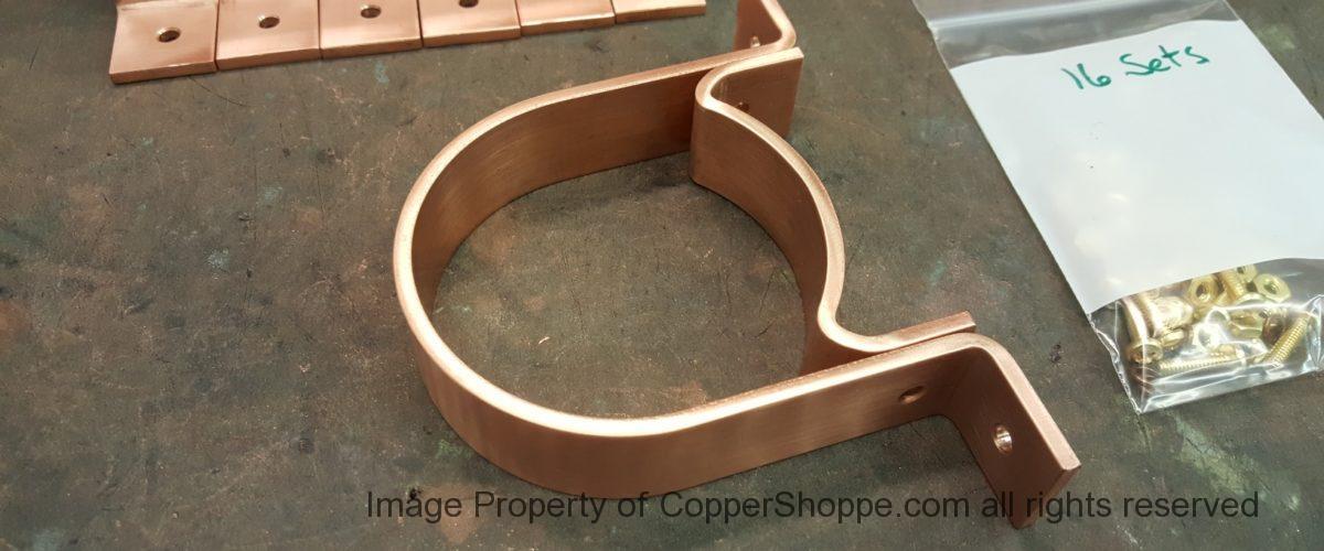 RDS Copper Downspout Brackets