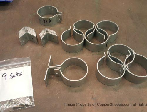 Knoke Downspout Brackets in Galvanized Steel
