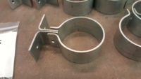 Knoke Downspout Brackets in Galvanized Steel