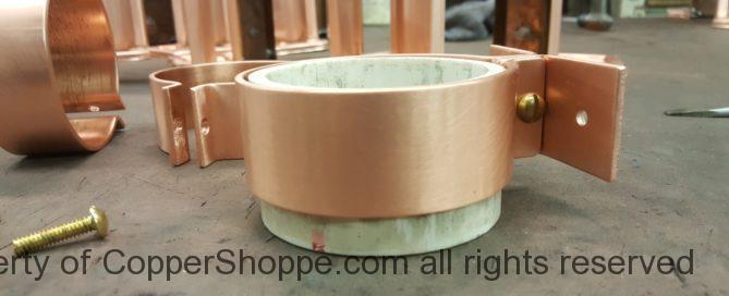 Knoke Copper Downspout Brackets