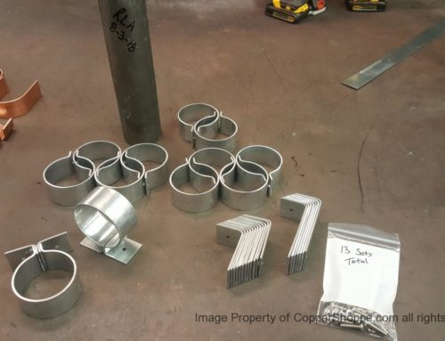 Knoke Galvanized Downspout Brackets