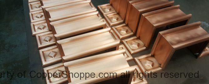 Radmont Copper Downpout Bands