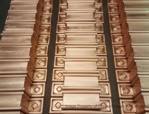 Radmont Ornamental Copper Downspout Bands