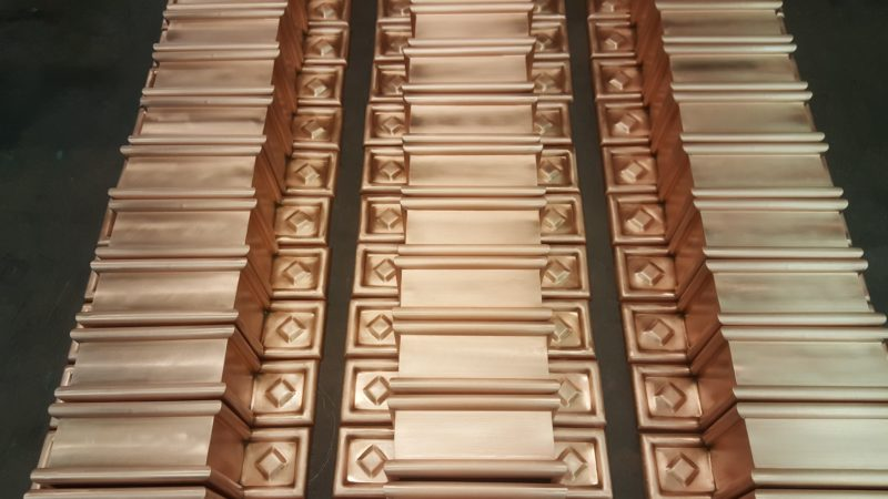 Radmont Ornamental Copper Downspout Bands